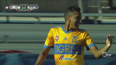 Reacción rápida de Tigres y vuelve a tomar ventaja de 2-1 ante Rayados en la Dallas Cup