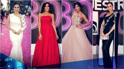 Estos son indiscutiblemente los vestidos más espectaculares de Premio Lo Nuestro 2018