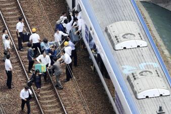 En fotos: Terremoto de 6.1 de intensidad deja tres muertos y centenares de heridos en Japón