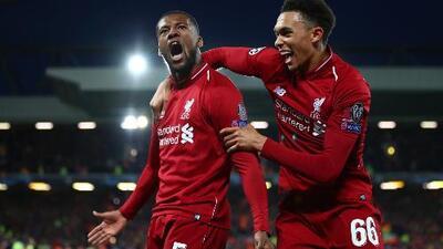 ¡Top 5! Estos han sido los mejores goles de Liverpool en la actual edición de la Champions