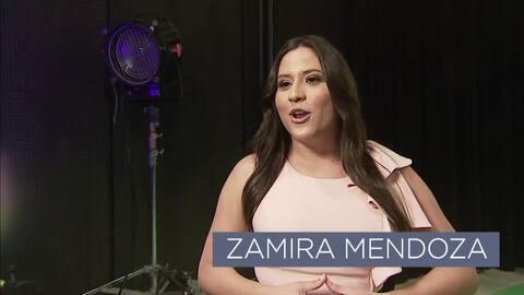 Conoce a Zamira Mendoza. La presentadora del Tiempo de #EdicionDigitalPR
