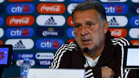 'Tata' Martino tiene claro que no ganar la Copa Oro puede traer secuelas