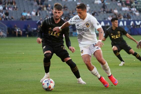 Chicharito vuelve aparecer en el equipo de la semana en la MLS