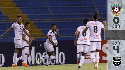 Tauro aplastó al Walter Ferretti y selló su pase en Liga Concacaf