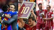 Temporada para la nostalgia: retiros y despedidas de las figuras del fútbol en 2017