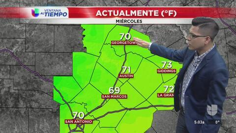 La posibilidad de granizo vuelve al centro de Texas para la noche de este miércoles
