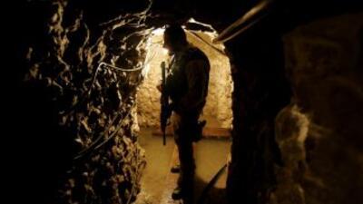 Autoridades hallaron nuevo 'narcotúnel' en la frontera México-EU
