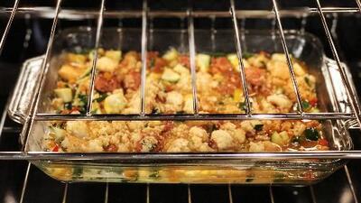 Esta receta es una gran opción de relleno o 'stuffing' para tu cena de Thanksgiving