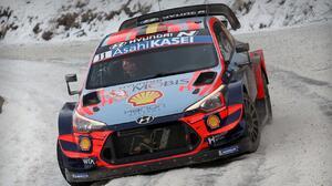 Thierry Neuville ganó el Rally de Montecarlo WRC