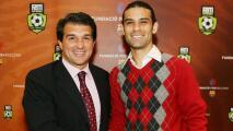 Rafa Márquez apoya candidatura de Laporta con estas palabras