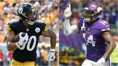 NFL Fantasy | Perfect Squad: Conner y Diggs te harán ganar en la Semana 3