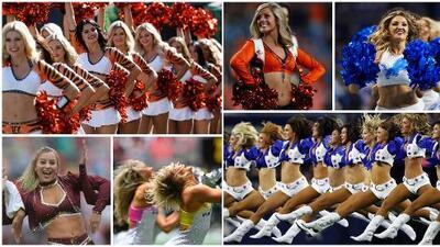 Las porristas contagian su energía en la Semana 7 de la NFL