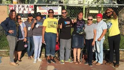 Maestros de Puerto Rico paralizan sus actividades en protesta contra la reforma educativa