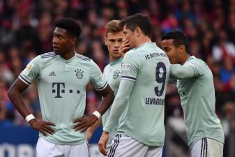En fotos: Bayern empató contra Nuremberg y perdió la opción de sentenciar la Bundesliga