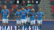 Excelsa asistencia de Hirving Lozano en triunfo del Napoli