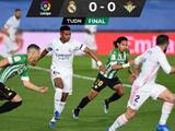 Lainez brilla en el empate del Betis ante un Real Madrid que deja escapar LaLiga
