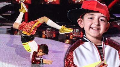 Foto a foto: el baile extremo de Óscar en Pequeños Gigantes