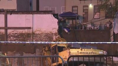 Muere trabajador hispano que quedó sepultado tras el desplome de la pared de un edificio