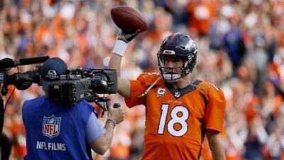 Peyton Manning hace historia en la NFL