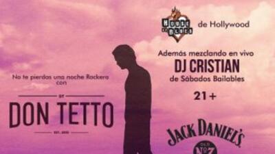 GANA: Don Tetto en concierto privado