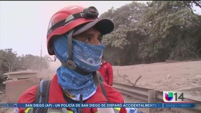 Catástrofe en Guatemala tras la erupción del volcán de Fuego