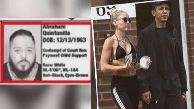 Momentazos: AB Quintanilla buscado por la policía y descubrimos que hacían Obama y Miley Cyrus juntos