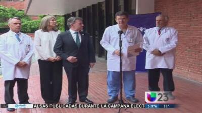 Juan Manuel Santos viaja a EEUU para someterse a chequeos médicos a causa del cáncer