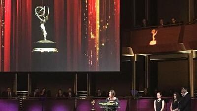Univision recibió tres premios Emmy por sus programas Aquí y Ahora y el noticiero nacional