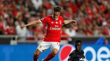 Extremo del Benfica estaría en la mira de Orlando City y FC Dallas