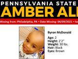 Alerta Amber emitida por Byron McDonald de 2 años desaparecido en Filadelfia