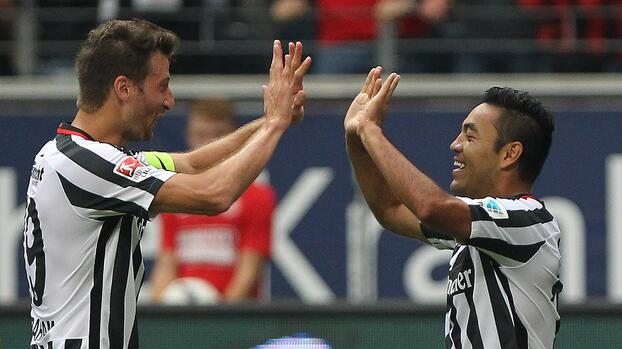 Marco Fabián da asistencia en triunfo del Frankfurt 2-0 ante el Ingolstadt