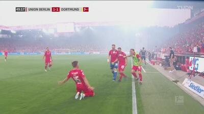 Marius Bülter consigue su segundo gol del encuentro