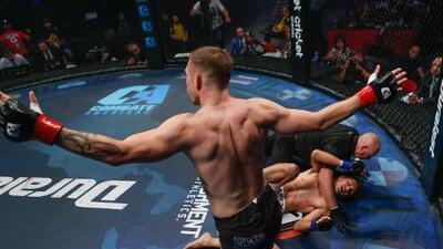 Triunfal noche de MMA brindó Combate Américas desde Fresno