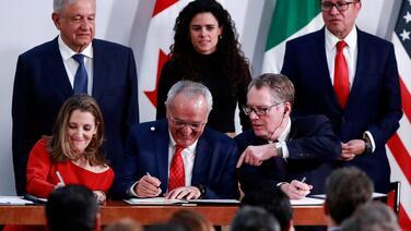Tras acuerdo bipartidista, EEUU, México y Canadá firman el nuevo tratado comercial