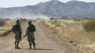 Impasse en la frontera: soldados mexicanos reprenden por error a militares estadounidenses