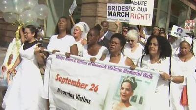 Marcha de las Novias, la protesta que busca crear conciencia sobre la violencia doméstica