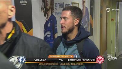 El mago sería titular: Hazard ya está en Stamford Bridge para el duelo ante el Frankfurt