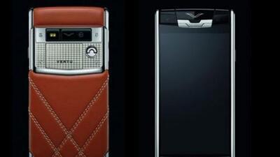 Bentley presentó su propio smartphone