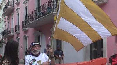 Manifestantes comienzan a llegar a Fortaleza tras la falla del Supremo en contra de Pierluisi