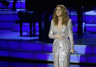Celine lloró en su regreso a los escenarios