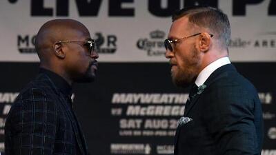 La 'bolsa imposible': Mayweather vs McGregor, la pelea en cifras