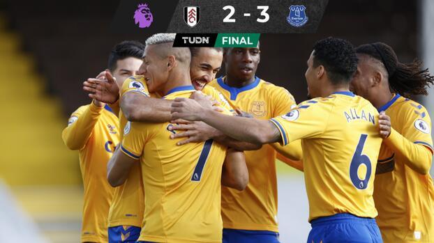 Adiós malaria... Everton gana gracias a Calvert-Lewin