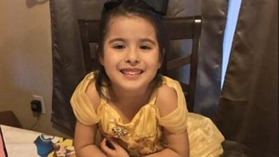 """""""Giselle no sobrevivió a sus lesiones"""", dicen familiares de niña de 5 años víctima de un choque"""
