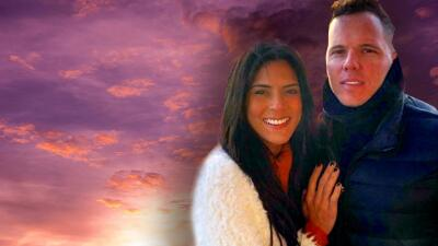 Francisca y Francesco celebran su primer San Valentín comprometidos separados por más de 1,300 millas