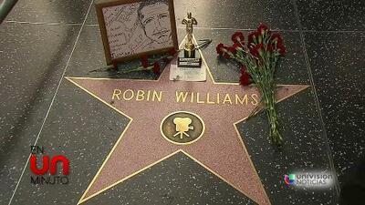 En Un Minuto: admiradores lloran la muerte de Robin Williams