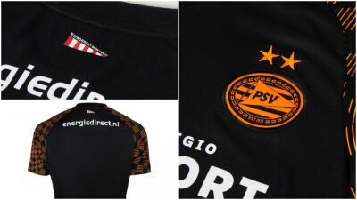 ¿La usarán Guti y Chucky? PSV lanzó su tercera playera para la siguiente temporada