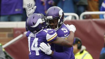 Vikings 38-17 Bears: Cuatro pases de TD para Teddy Bridgewater, Minnesota cerca de playoff