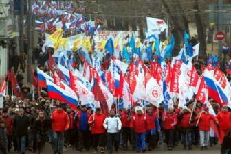 Crimea entre partidarios de Moscú y Kiev