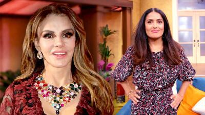 A Lucía Méndez le gustaría que Salma Hayek la interpretara porque cree que se parecen