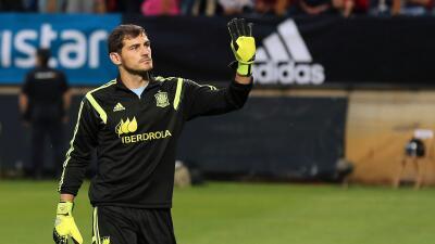 Iker Casillas es el jugador europeo con más partidos con su selección
